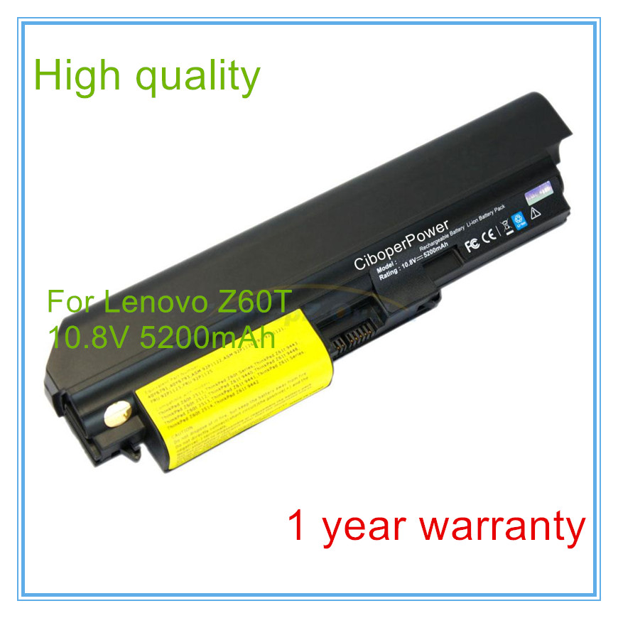 цена Laptop Battery For Z60t Z61t 40Y6791 40Y6793 ASM 92P1122 92P1126 FRU 92P1121 92P1123