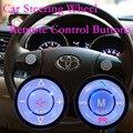 Control remoto inalámbrico de 2 din coche de control del volante botones de navegación de DVD del coche de radio control remoto para auto dvd gps