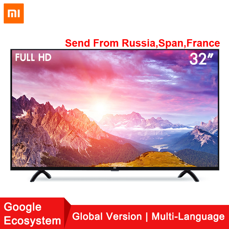Xiaomi Smart TV Set 4A 32 pollice 1366x768 Televisione 64-bit quad-core di Intelligenza Artificiale HDMI WIFI 1 gb + 4 gb gioco display