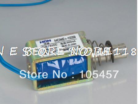 24VDC Pull Hold/Release 10mm Stroke 4.1Kg Force FrameElectromagnet Solenoid Actuator HCNE1-1039 24v pull hold release 10mm stroke 6 3kg force electromagnet solenoid actuator