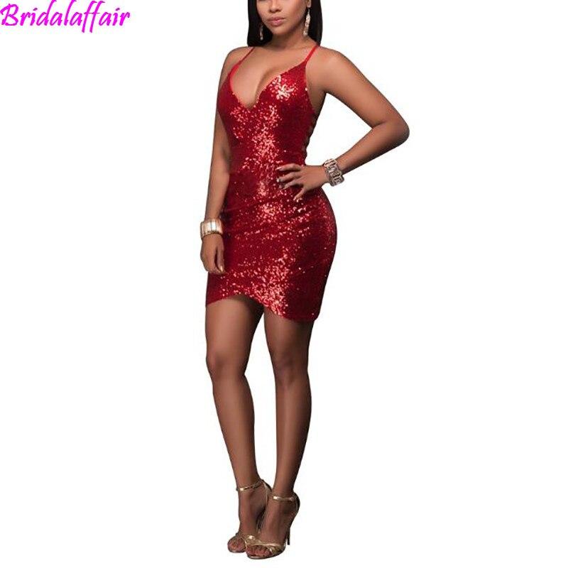 Robe de noël femmes à manches courtes paillettes robe de soirée Cocktail robe ligne a robe de bal courte élégante robes robe de bal