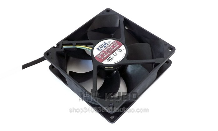 NEW for delta QUR0912VH 9CM 92mm 929225mm 12V 0.60A 4 lines pwm large air volume computer CPU radiator fan Mini water fan