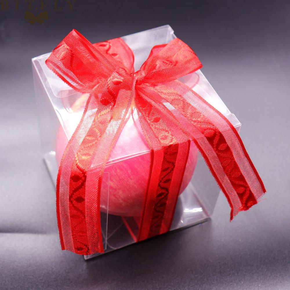 50pcs PVC Clear Transparent Candy Box Gifts Birthday Wedding Favor ...