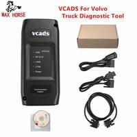 VCADS Pro 2,40 для Volvo грузовик инструмент диагностики с многоязычным интерфейсом