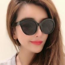 Oculos De Sol Feminino 2019 New Fashion Retro Designer Super Round Circle Glasses Cat Eye Womens Sunglasses Goggles