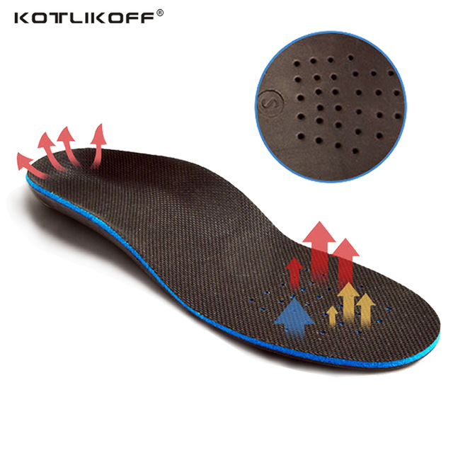 KOTLIKOFF Arch Support EVA Orthotics Orthopedic Insoles Flat Foot Correct Care for Men/Women Shoes Insoles Insert Massage Pads kotlikoff arch support insoles massage pads for shoes insole foot care shock women men shoes pad shoe inserts shoe accessories