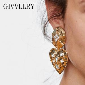 GIVVLLRY Drop Earrings for Women Vintage Crystal Jewelry 3180c1cb47f9