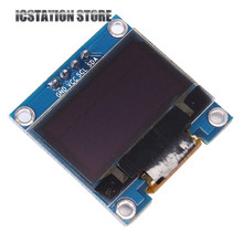 0.96″ Blue OLED Module 128×64 Pixels OLED LCD LED Display Module 3-5V For Arduino I2C IIC Interface SSD1306 0.96 Inch