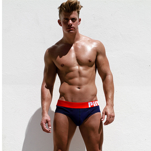 Image 4 - 5Pcs/lot pack Pink Hero Mens Briefs Sexy Underwear Pure Color Soft  Cotton Cuecas Panties Male Casual Trunks High Quality Hot