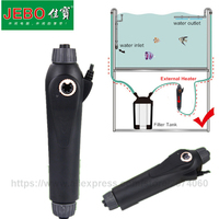 JEBO Aquarium Fish Tank Water External Heater Adjustable Temperature 100W 200W 300w Temp Controller Better Use With Filter Tank