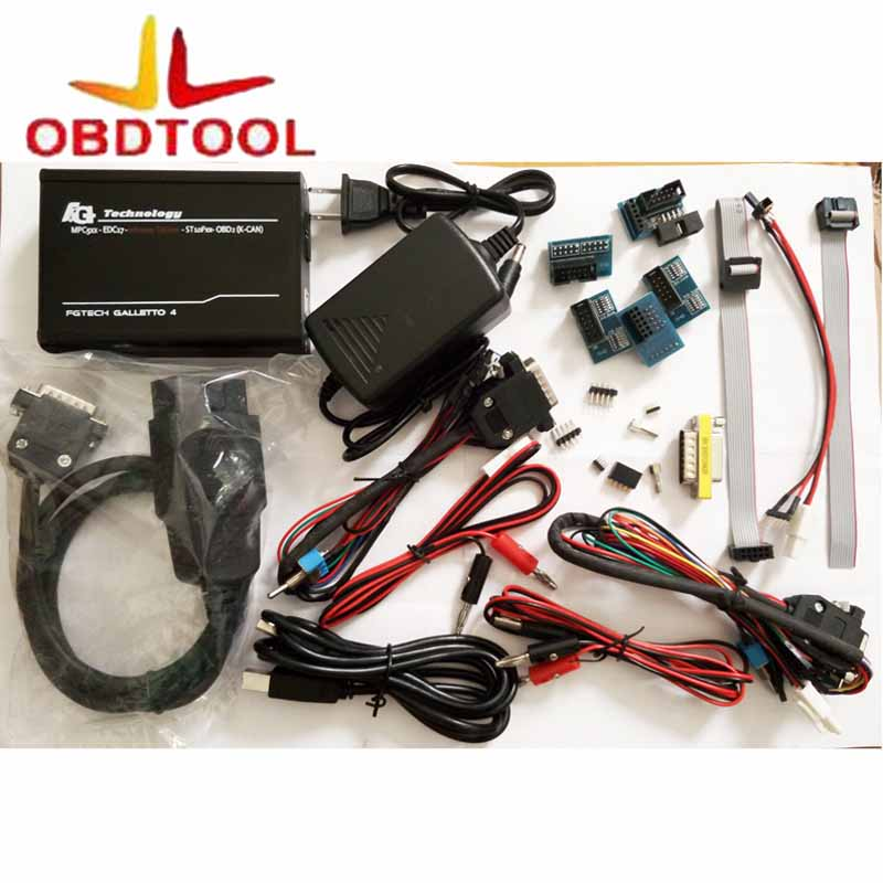 ObdTooL For Newest Version 100% Fgtech Galletto 4 Master V54 FG Tech V54 BDM-TriCore OBD Better Than FG Tech V53