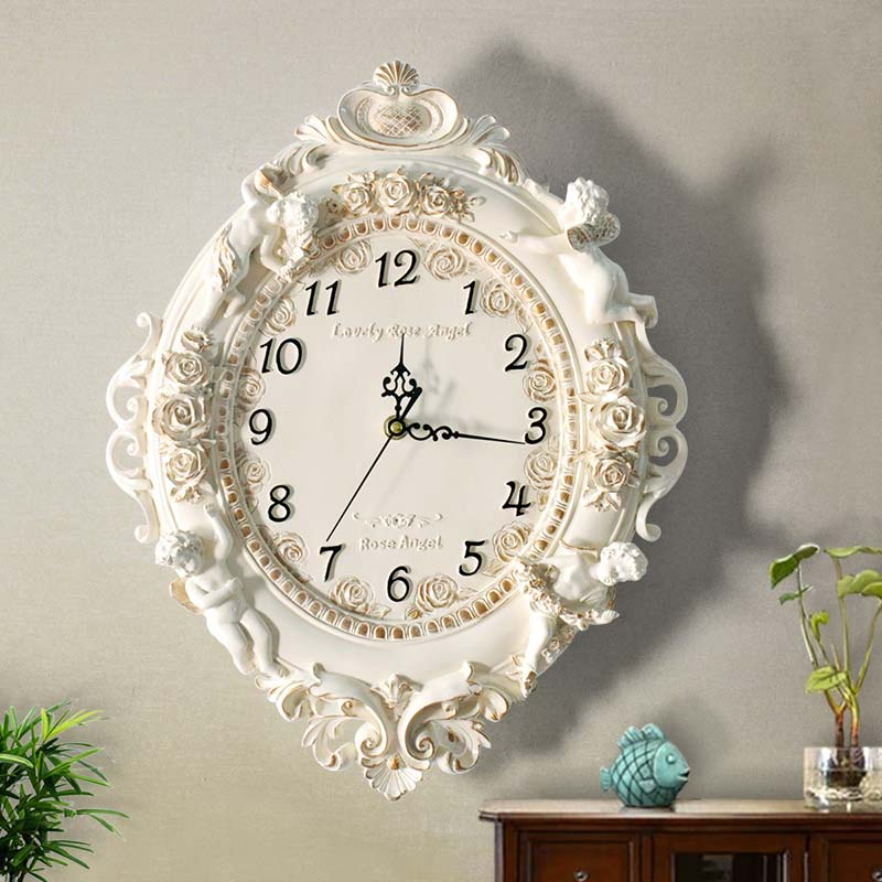 Fashion fashion decoration wall clock mute clock big quartz clock and watch