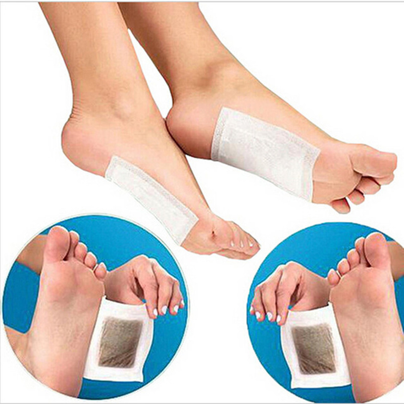 New 10Pcs/Bag Herbal Detox Foot Pads Patches Feet Care Medical Plaster Foot Remover Relieving Pain Foot Massager foot care massager health care plaster treatment heel pain stimulate the zb pain relief achilles tendinitis medical plasters