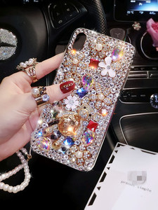Image 3 - Luxury Bling Lovely Bear Rhinestones Diamonds Soft Case Cover For Xiaomi Redmi 9 9A 9T Pro Note9 Pro Max Note9S Note8 Pro Case