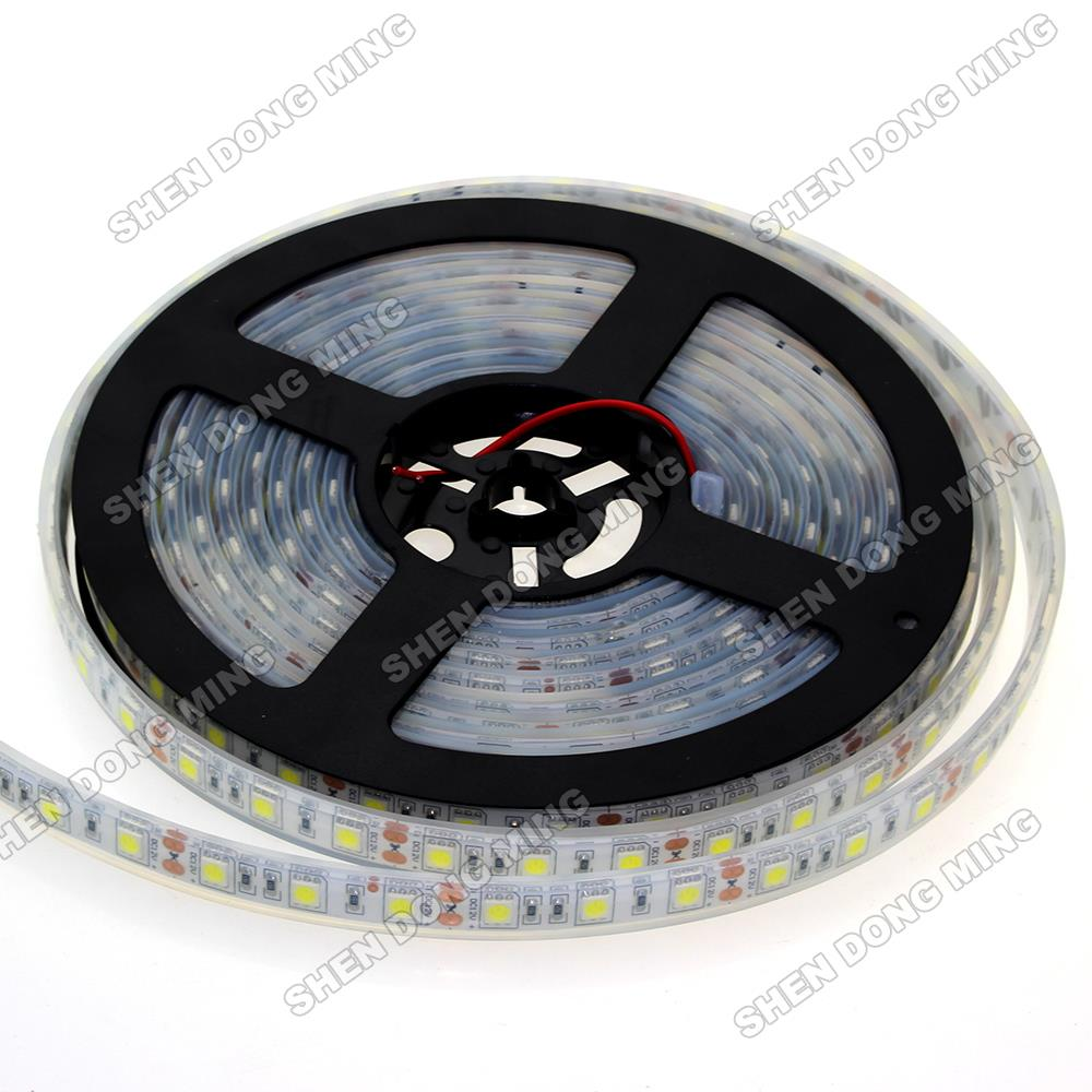 Outdoor 12 Volt 60leds Meter Led Strip Smd 5050 Rgb: 5m 60leds/m 12V SMD 5050 LED Strip Waterproof IP68