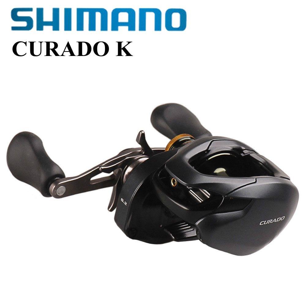 SHIMANO CURADO K Low-Profile Reel Bait Casting Fishing Reels 200/201 200HG/201HG MicroModule gear Hagane Body Water Drop Wheel curado 200hgk