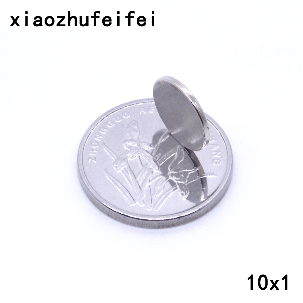 20-50x Neodymium Disc Mini N50 10X1mm Rare Earth Strong Magnets Craft Models New