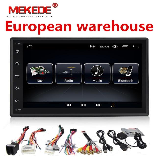 2Din Android 8.1 samochodowe ODTWARZACZ DVD radio dla Nissan Volkswagen TOYOTA Honda KIA Hyundai Lada mazda uniwersalny samochodowy system GPS nawigacji
