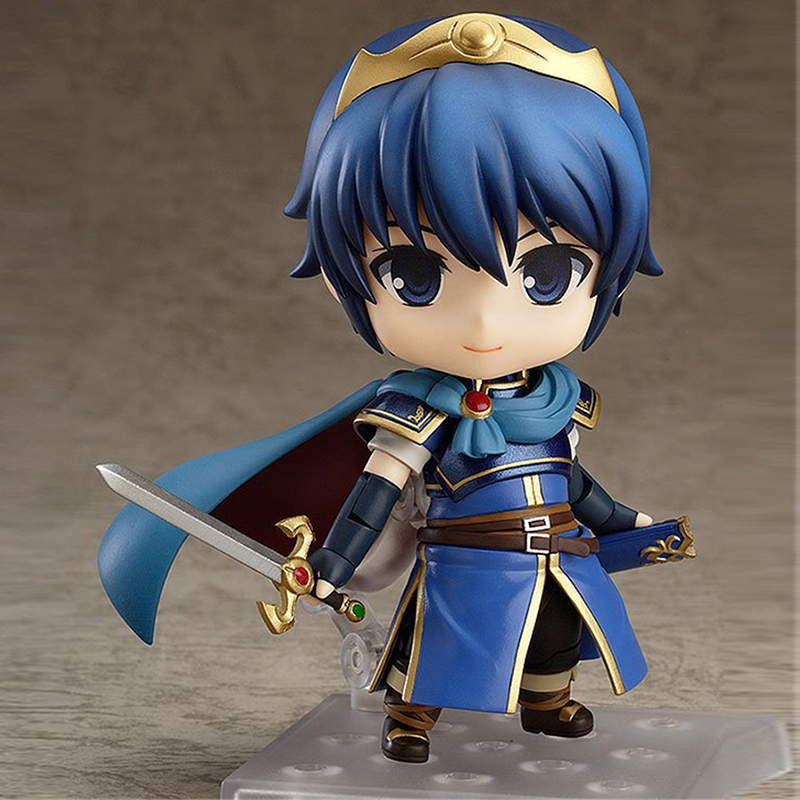 10CM S.RPG Game Fans Japanese Anime Toy Dolls Figures Marth PVC Model Action Figure Q-Version Nendoroid #567 Brinquedos SS0025 new game ashe action figure collectible model toy pvc 23cm game figures doll brinquedos juguetes hot sale free shipping