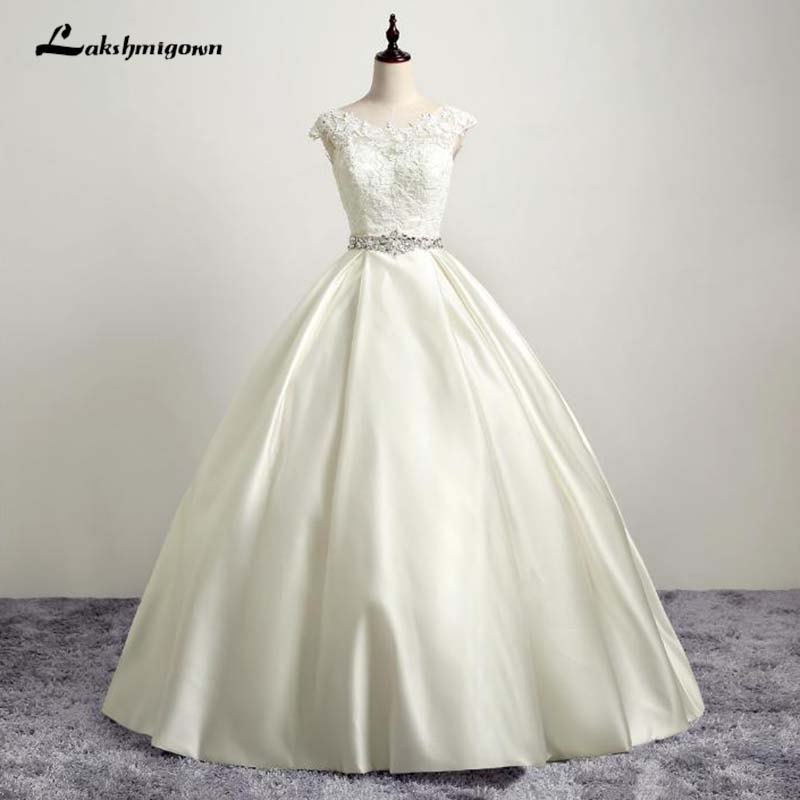 Elegant Embroidery Embellishment Ball Gown Traditional: Aliexpress.com : Buy Elegant Embroidery O Neck Wedding