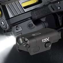 WIPSON SF XC1 Pistol MINI Light Gun LED Tactical Weapon Light Airsoft Military Hunting Flashlight For GLOCK Free Shipping