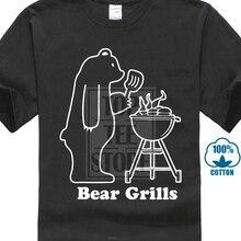 09e2390f 2018 Printed Men Short Sleeve Funny T Shirts Bear Grills Tee Shirt Grylls  Funny Tv Slogan