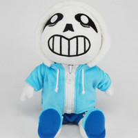 Hot Sale New Color Blue 30cm Undertale Plush Toys Animation Plush Dolls For Kids Christmas Gift Free Shipping