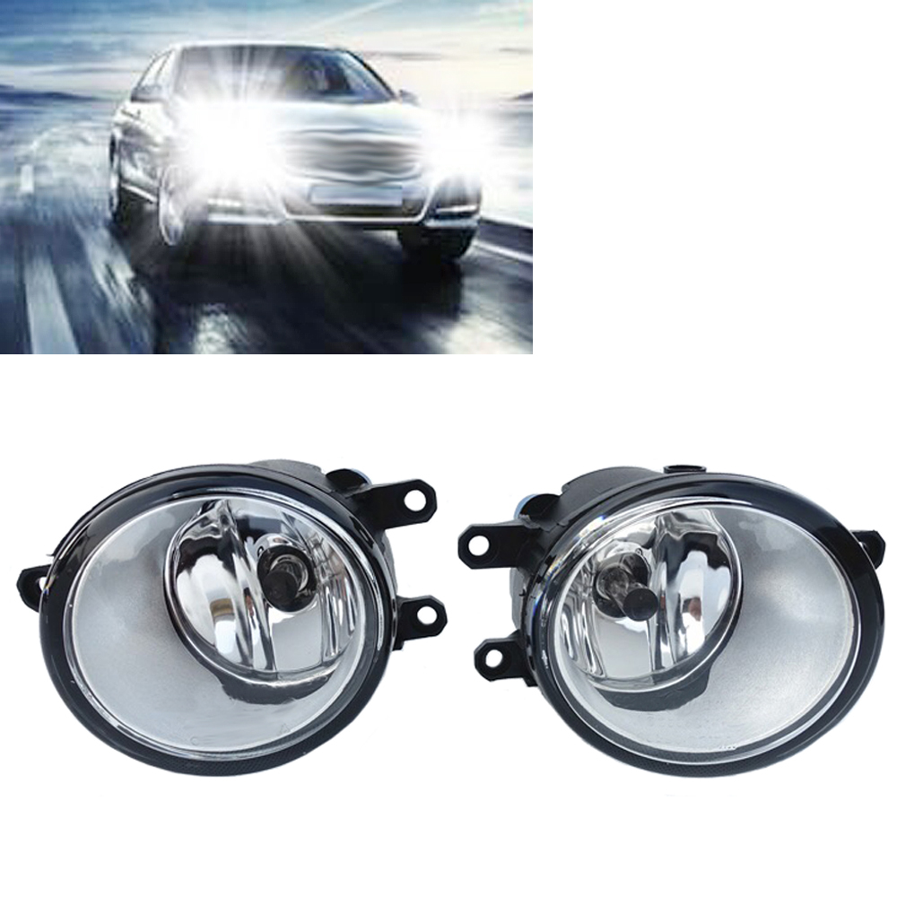Wooeight 1Pair Left + Right Fog light Lamp for Toyota Camry Corolla Yaris Lexus GS350 GS450h LX570 HS250h IS-F LX570 RX350 car front bumper fog lamp lights for toyota yaris camry avensis rav4 corolla highlander matrix prius for lexus rx270 lx570