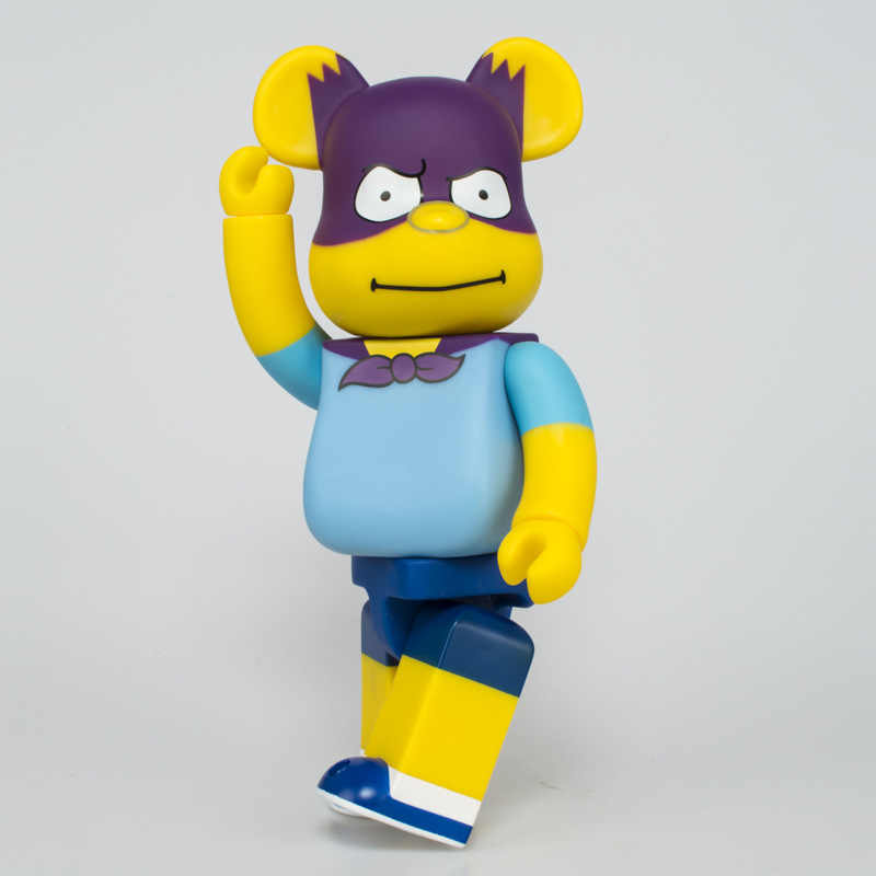 Panas 11 Inci Simpons Bearbrick 400% BE @ Rbrick Karena Badut PVC Action Figure Collectible Model Toy Hadiah Ulang Tahun