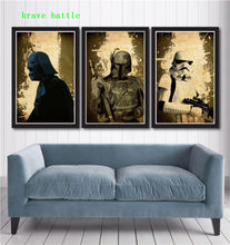 HD Printed Pictures Painting Wall Art Frame 1 Piece/Pics Star Wars Poster Set Modern Canvas Living Room Home Decor Poster(China)