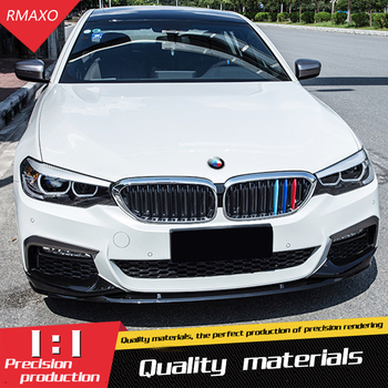 For G30 G38 Body kit spoiler 2017-2018 For BMW 5 series 525i B ABS Rear lip rear spoiler front Bumper Diffuser Bumpers Protector