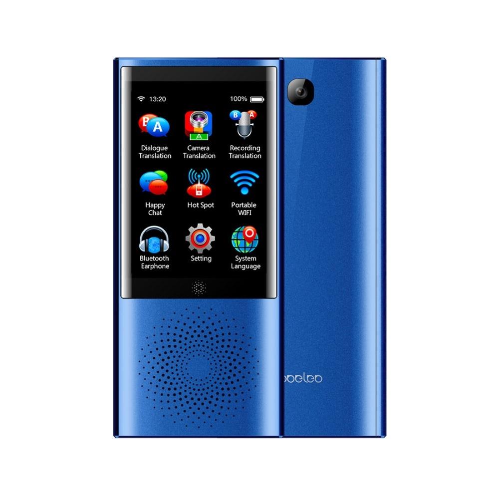 Boeleo W1 AI Traduttore Touch Screen Intelligente Traduttore 45 Multi-lingua di Viaggi e di Business di Traduzione Macchina 4g Rete 1g + 8g