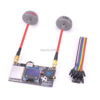 Fatshark 5.8G RHCP FPV Antenna & RX5808 5.8G 40CH Diversity FPV Receiver with OLED Display for DIY drone FPV Quadcopter