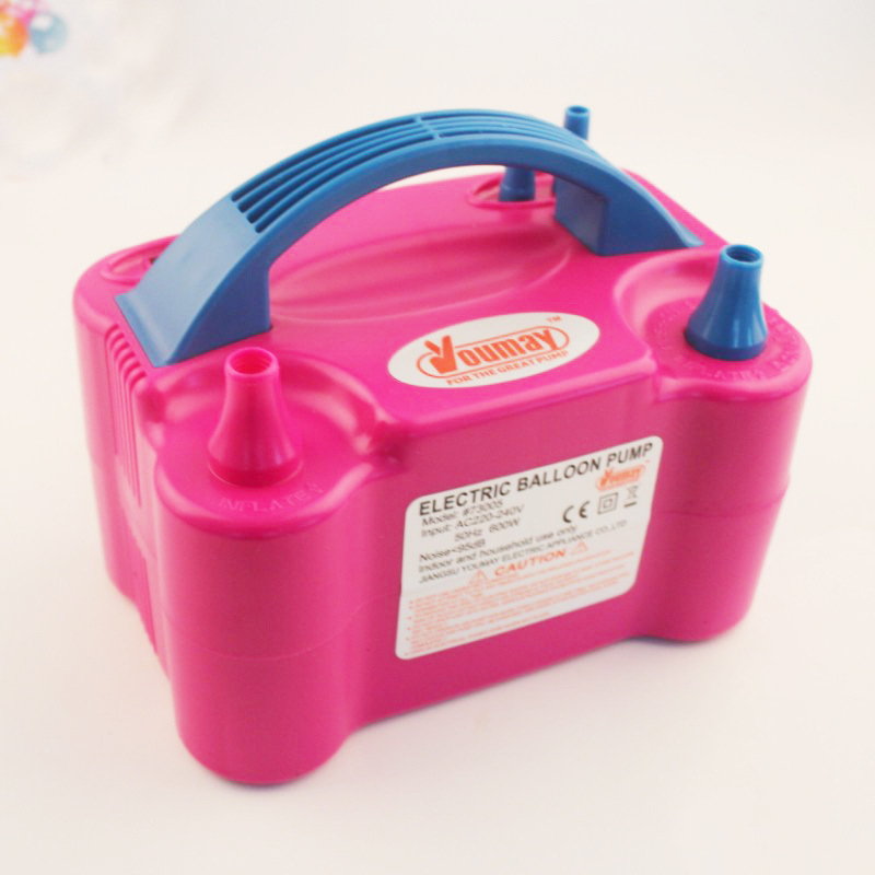 2017 New Double Hole HT 501 High Voltage AC Inflatable Electric Balloons Pump Air Inflator Machine