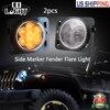 CO LIGHT ONE PAIR 8 LEDS REAR LIGHTS TURN SIGNAL WARNING RACER LIGHTS LAMPS 3000K DC