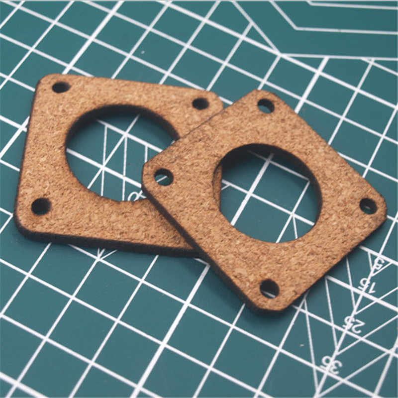 5 Pcs NEMA 17/NEMA23 Stepper Motor Peredam Isolator Cork Gasket 1/8 ''Tebal Laser Cut