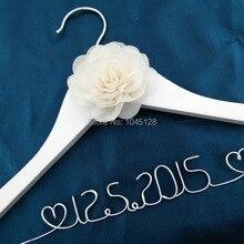 Дата вешалка персональная Свадебная Вешалка, подарки невесте, вешалка с именем, вешалка для платья невесты подарок для невесты