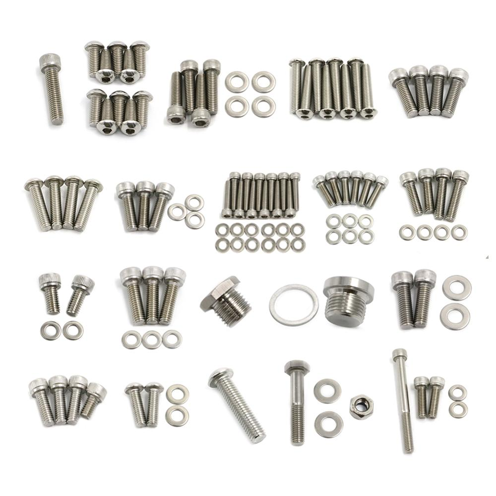Motorcycle Accessories For <font><b>BMW</b></font> R1200GS R 1200 <font><b>GS</b></font> <font><b>R1200</b></font> 1200GS ADV Adventure Stainless Steel Fastener Bolts Screws 2003 - <font><b>2007</b></font> image
