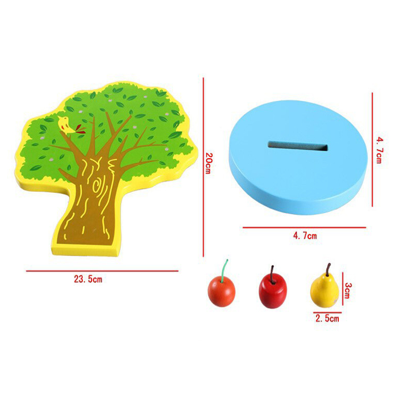 Montessori magnetic tree kids intelligence learning education baby montessori magnetic tree kids intelligence learning education baby wooden materials math games toys in math toys from toys hobbies on aliexpress ccuart Images