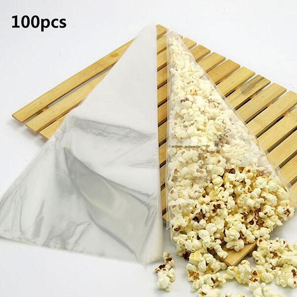100pcs Cone Clear Sweet Chocolate Candy Cupcake Wrapper Birthday ...