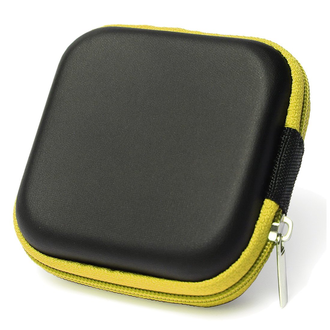 Cover Case Protective Case Earphone Case Simple Design Cued for Headphone Cables Coin or any other small yellow object