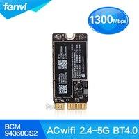 Nova BCM94360CS2 Wireless-AC 802.11ac WI-FI Bluetooth BT 4.0 Aeroporto Cartão Para Macbook Air 11