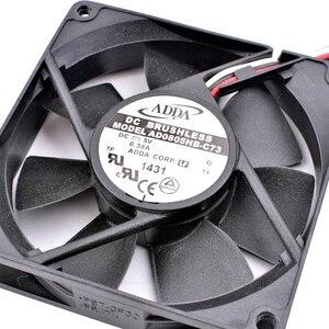 Новый оригинальный AD0805HB-C73 8 см 8020 80x80x20 мм DC5V 0.38A USB устройство вентилятор охлаждения двойной шар большой объем воздуха Вентилятор охлаждения