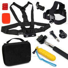 AVAWO 10-in-1 GOPRO Accessories Kit with Carrying Case for GOPRO HERO Action Cameras And XIAOYI SJ4000