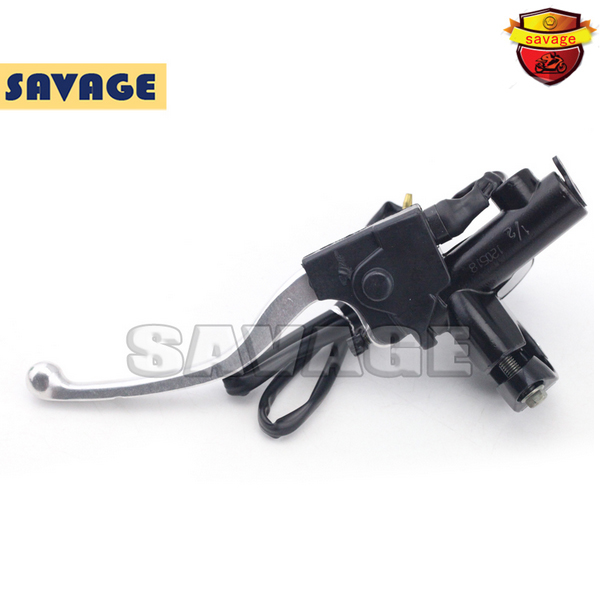 ФОТО For KTM EXC 125-530 Off-Road 125-400 Motorcycle FRONT BRAKE MASTER CYLINDER LEVER 12mm