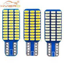 цена на 2x W5w T10 Car Auto Canbus Bulbs 168 194 Led Turn Signal License Plate Trunk Lights Lamp White Blue DC 12V Car Interior Light