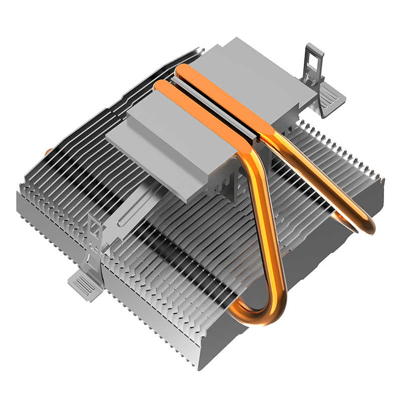 Aigo وحدة المعالجة المركزية برودة LED وحدة المعالجة المركزية مروحة التبريد PWM الصامت وحدة المعالجة المركزية برودة LGA/1156/1366/775/AM4 3Pin الكمبيوتر وحدة المعالجة المركزية التبريد المبرد 2 أنابيب نحاسية المشجعين