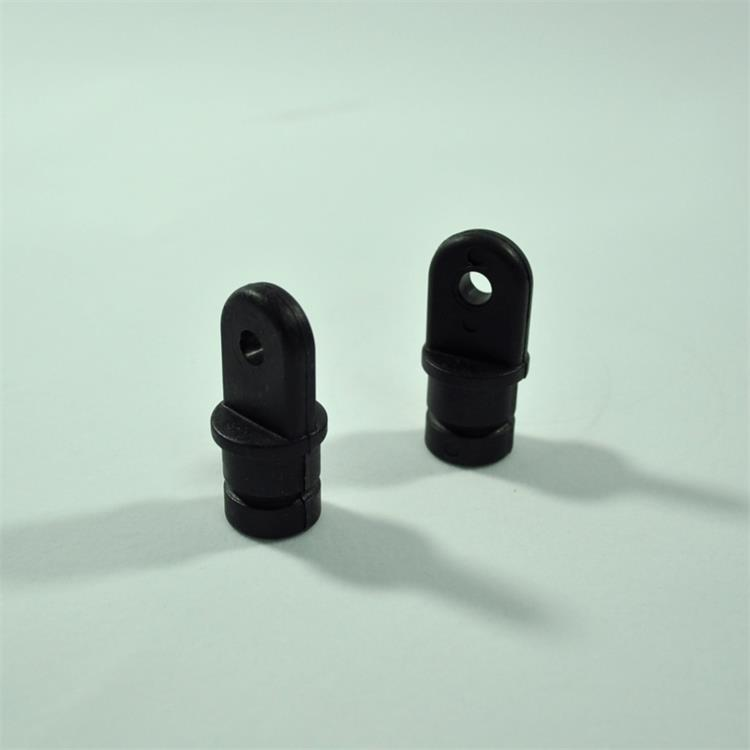"Imported From Abroad 2pcs Nylon 7/8"" Tube Eye End Cap Bimini Top Fitting / Hardware Stainless Steel"