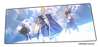 Fate mouse pad gamer big 120x50cm notbook mouse mat gaming mousepad large Halloween Gift pad mouse PC desk padmouse