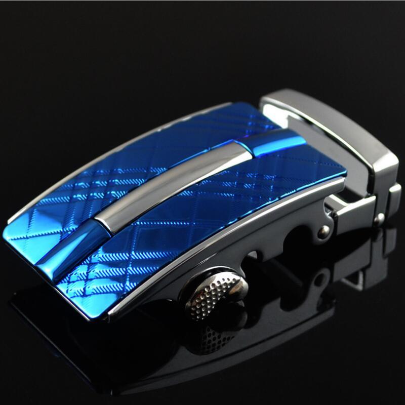 ZPXHYH Fashion Men's Business Alloy Automatic Buckle Unique Men Plaque Belt Buckles For 3.5cm Ratchet Men Apparel Accessories
